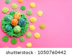 easter. abstraction from...   Shutterstock . vector #1050760442