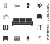 sofa  icon. detailed set of... | Shutterstock .eps vector #1050762092
