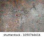 beatiful pattern old metal iron ...   Shutterstock . vector #1050766616