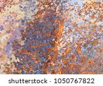 abstract corroded colorful...   Shutterstock . vector #1050767822