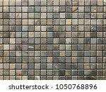 stone brick wall textured...   Shutterstock . vector #1050768896