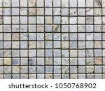 stone brick wall textured...   Shutterstock . vector #1050768902