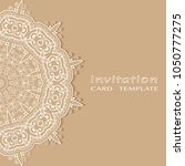 invitation or card template... | Shutterstock .eps vector #1050777275