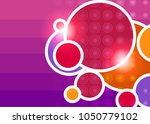 purple abstract template for... | Shutterstock .eps vector #1050779102