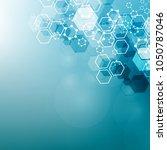modern futuristic background of ...   Shutterstock .eps vector #1050787046
