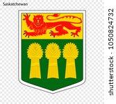 emblem of saskatchewan ... | Shutterstock .eps vector #1050824732