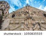 miagao church  the centerpiece...   Shutterstock . vector #1050835535