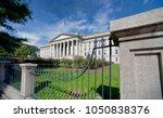 the treasury department...   Shutterstock . vector #1050838376