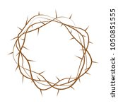 holy week object | Shutterstock .eps vector #1050851555