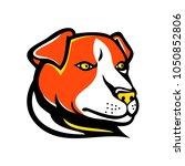 mascot icon illustration of... | Shutterstock .eps vector #1050852806