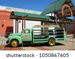 Small photo of WACO, TEXAS - MARCH 19, 2018: Antique delivery truck at the Dr Pepper Museum and Free Enterprise Institute.