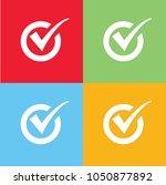 checking icon vector design | Shutterstock .eps vector #1050877892