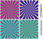 line of color background it... | Shutterstock . vector #105088655