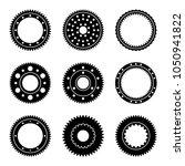 gear wheel in mechanical system ... | Shutterstock .eps vector #1050941822