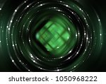 brilliant green tunnel... | Shutterstock . vector #1050968222