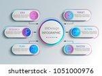 creative modern infographic... | Shutterstock .eps vector #1051000976