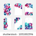 health care design collection.... | Shutterstock .eps vector #1051002596