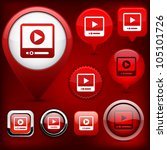 video web buttons for website...