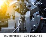 metalworking manufacture... | Shutterstock . vector #1051021466