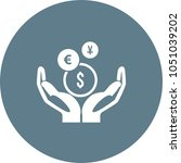 mutual fund symbol | Shutterstock .eps vector #1051039202