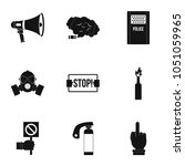 revolution icon set. simple set ...   Shutterstock . vector #1051059965