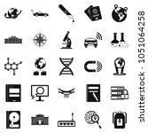 technical evolution icons set.... | Shutterstock . vector #1051064258