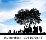 a great day for a good... | Shutterstock . vector #1051070645