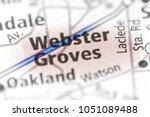 webster groves. missouri. usa | Shutterstock . vector #1051089488
