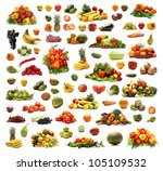 Different Fruits And Vegetable...