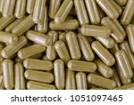 closeup concentrated herbal... | Shutterstock . vector #1051097465