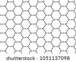 abstract circle hexagonal... | Shutterstock .eps vector #1051137098