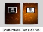 dark orange vector template for ...