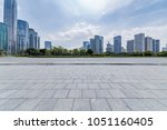 panoramic skyline and buildings ... | Shutterstock . vector #1051160405