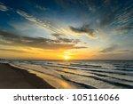 Sun Rise Time At Hua Hin Beach...