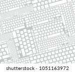 seamless pattern with computer... | Shutterstock .eps vector #1051163972