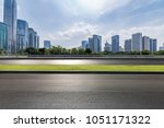 panoramic skyline and buildings ... | Shutterstock . vector #1051171322