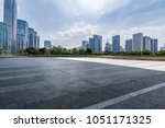 panoramic skyline and buildings ... | Shutterstock . vector #1051171325