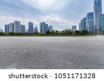 panoramic skyline and buildings ... | Shutterstock . vector #1051171328