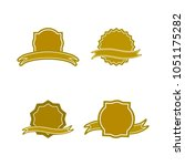 a set of labels. isolated icons.... | Shutterstock .eps vector #1051175282