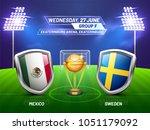 soccer championship league ... | Shutterstock .eps vector #1051179092