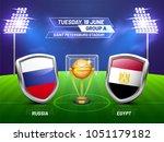 soccer championship league ... | Shutterstock .eps vector #1051179182