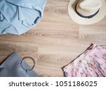 online shopping layout for... | Shutterstock . vector #1051186025