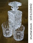 Small photo of Whiskey glasses and canter