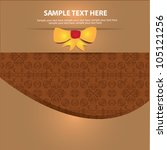card  abstract background vector | Shutterstock .eps vector #105121256