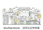 kitchen concept vector...