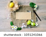 top view background with space...   Shutterstock . vector #1051241066