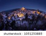 g  weinstein  germany  night... | Shutterstock . vector #1051253885