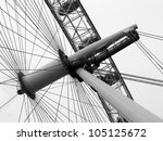 construction of the london eye...