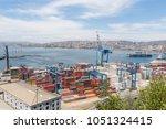 valparaiso  chile  january 2 ...   Shutterstock . vector #1051324415