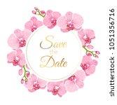 wedding marriage event...   Shutterstock .eps vector #1051356716